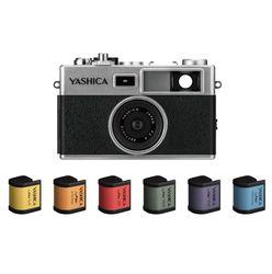 YASHICA digiFilm camera Y35  with 6 digiFilm