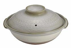 萬古焼 銀峯陶器 京三島 土鍋 (11号) 銀峯陶器(Ginpo Touki)