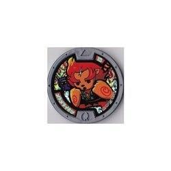 【妖怪メダル】はぐれ)メラメライオン/ホロ(グレー)/妖怪ウォッチ