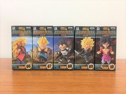スーパードラゴンボールヒーローズ ワールドコレクタブルフィギュア vol.2 全5種セット