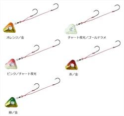 ダイワ 紅牙遊動テンヤ+SS 15 オレンジ/金