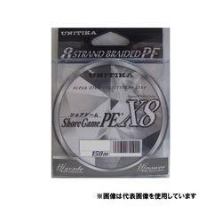 ユニチカ ショアゲームPE X8 150M1号 スーパーホワイト