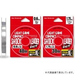 TICT(ティクト) コンパクトショックリーダー 40m 0.8号