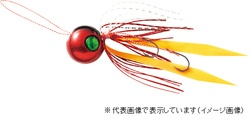 ハヤブサ SE170 無双真鯛フリースライド VSヘッド コンプリートモデル 180-1 海老レッド