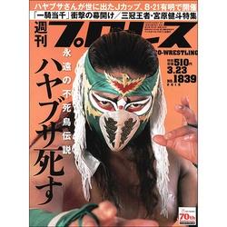 ハヤブサ★週刊プロレス 2016年3月23日号 No.1839 新日本プロ