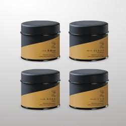 ほうじ茶4種セット 30g茶缶