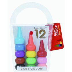 BABY COLOR ベビーコロール ベーシック・アソート12色(4977453201024)