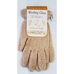 ウォッシング グラヴ オーガニックコットン100% 浴用手袋(4993873102123)