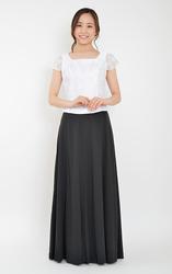 日本製8枚接ぎスムーススカート