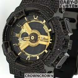 BABY-G ベビージー カスタム レディース 腕時計 レディース時計 BA110 BA110-LP7A おしゃれ  芸能人 愛用 人気 ブランド カスタムベゼル CROWNCROWN BA110-001