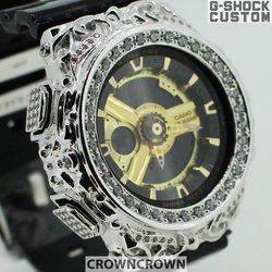 BABY-G ベビージー カスタム レディース 腕時計 レディース時計 BA110 BA110-LP7A おしゃれ  芸能人 愛用 人気 ブランド カスタムベゼル CROWNCROWN BA110-008