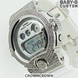 BABY-G ベビージー カスタム レディース 腕時計 BG-6900,BG6900-7 おしゃれ 少女時代 SNSD テヨン 芸能人 ブランド カスタムベゼル CROWNCROWN BG6900-009