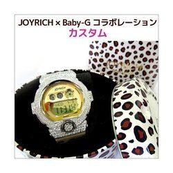 BABY-G ベビージー カスタム レディース 腕時計 BG-6900,BG6900 JR-4CR おしゃれ 少女時代 SNSD テヨン 芸能人 ブランド カスタムベゼル CROWNCROWN BG6900-014