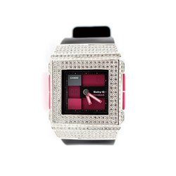 BABY-G ベビージー カスタム レディース 腕時計 レディース時計 BGA-200 BGA200-1E おしゃれ 芸能人 愛用 人気 ブランド カスタムベゼル CROWNCROWN BGA200-001