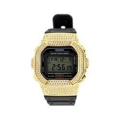 G-SHOCK ジーショック カスタム 腕時計 DW-5600 DW5600bb-1jf カスタムベゼル おしゃれ 芸能人 ブランド 人気 ユニセックス ファッション CROWNCROWN DW5600-003