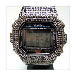 G-SHOCK ジーショック カスタム 腕時計 DW-5600 DW5600E-1 カスタムベゼル おしゃれ 芸能人 ブランド 人気 ユニセックス ファッション CROWNCROWN DW5600-004
