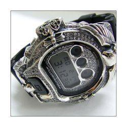 G-SHOCK ジーショック カスタム メンズ 腕時計 DW-6900 DW6900-1V カスタムベゼル エフティー・アイランド ホンギ FTIsland ホンギ CROWNCROWN DW6900-002