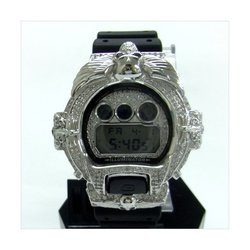 G-SHOCK ジーショック カスタム メンズ 腕時計 DW-6900 DW6900-1V カスタムベゼル おしゃれ FTIsland ホンギ 愛用 CROWNCROWN DW6900-055