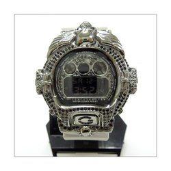 G-SHOCK ジーショック カスタム メンズ 腕時計 DW-6900 DW6900-NB-7 カスタムベゼル おしゃれ FTIsland ホンギ 愛用 CROWNCROWN DW6900-061