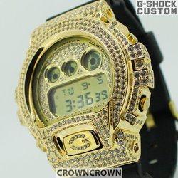 G-SHOCK ジーショック カスタム メンズ 腕時計 DW-6900 DW6900-MR1 カスタムベゼル おしゃれ  CROWNCROWN DW6900-095