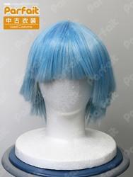 【中古コスプレ衣装】ウィッグ/ショート(ライトブルー)