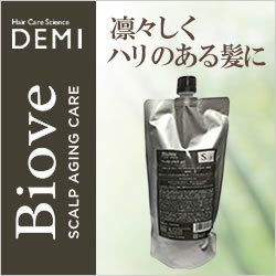 DEMI デミ ビオーブ フォーメン スキャルプパックジェル 450g(レフィル)