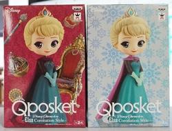 Q posket Disney Characters -Elsa Coronation Style- エルサ 全2種セット(通常カラーVer.+パステルカラーVer.)