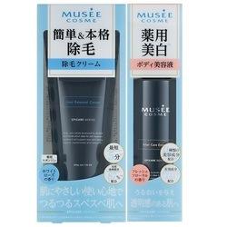 ミュゼ 薬用ヘアリムーバル&薬用美白エッセンスセット 200g+200ml <除毛クリーム+美容液>