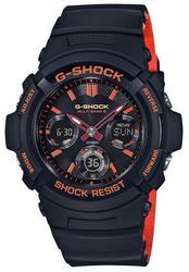 新品 カシオ CASIO 腕時計 G-SHOCK ジーショック ブライトオレンジカラー 電波ソーラー AWG-M100SBR-1AJF メンズ