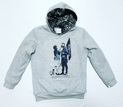 【FURY】18AW 10oz C100% Sweat pullover hoodie