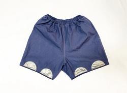 19SS Cotton linen type writer easy short pants