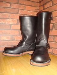 GLEEM シューズ Engineer Boots [120] (ブラック)