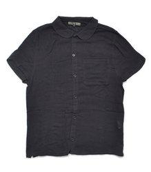 ガーゼシャツ【HELLCATPUNKS】 ブラック Sサイズ 半袖シャツ レディース(HCP-C409-02)
