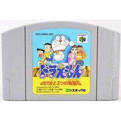 N64 ドラえもん のび太と3つの精霊石 ソフト ニンテンドー64 中古