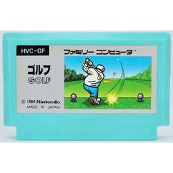 FC ゴルフ 後期版 絵柄 Used NES  Famicom Japan
