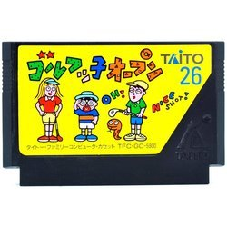 FC ゴルフッ子オープン Used NES  Famicom Japan