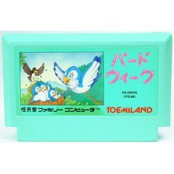 FC バードウィーク Used NES  Famicom Japan
