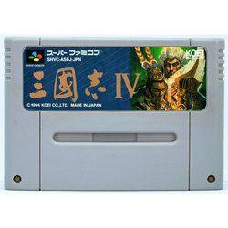 SFC 三國志4 Used SNES  Super Famicom Japan Game