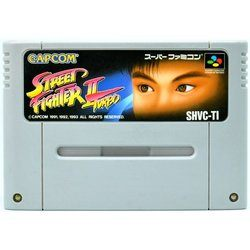 SFC ストリートファイター2 ターボ Used SNES  Super Famicom Japan Game