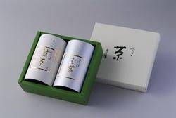 Canned green tea Gyokuro 100g Sencha 100g HG-50