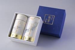 Canned green tea Gyokuro 170g and Sencha 160g TH2-70