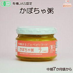 【有機JAS認定品】有機まるごとベビーフード かぼちゃ粥 100g(中期7か月頃から)
