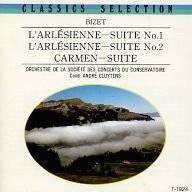 中古CD ビゼーアルルの女第1・2組曲 カルメン組曲 CD アンドレ・クリュイタンス指揮