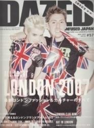 書籍 DAZED & Confused japan No 57 最新ロンドンファッション カエルム
