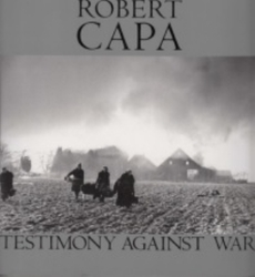 書籍 Robert CAPA Testimony against war 戦後50周年写真展 NHK