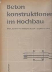書籍 Betonkonstruktionen im Hochbau allwey
