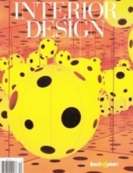 洋雑誌 INTERIOR DESIGN Number 15 best of year maharam