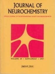洋雑誌 Journal of neurochemistry Vol 69 supple pages S1-S308 1997