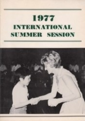 書籍 1977 International Summer Session 国際学術振興協会