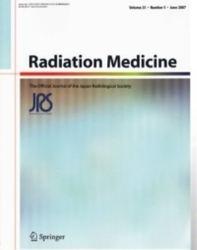 雑誌 Radiation Medicine Volume 25 Number 5 June 2007